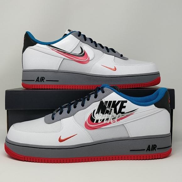 Nike Air Force 1 '07 LV8 4 Men's Shoe Size 11.5 (White